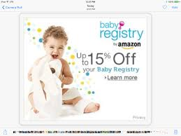 Shop Amazon - Create an Amazon Baby Registry